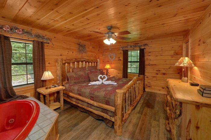 Premium Cabin with King suite and Jacuzzi Tub - One More Night