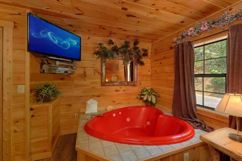 Private Jacuzzi Tub with King Bedroom - One More Night