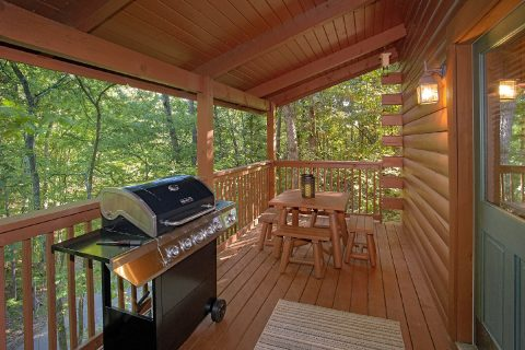1 Bedroom Cabin with a Gas Grill - Our Happy Place