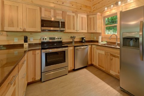 Cabin rental with Stainless steel appliances - Out On A Limb