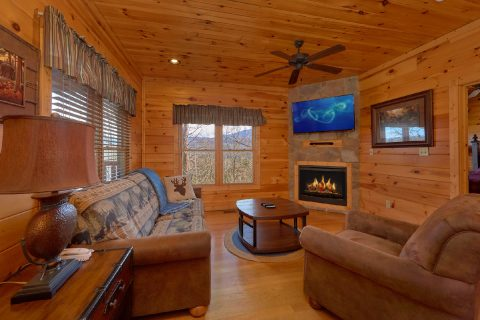 1 Bedroom 2 Bath Cabin Sleeps 8 In Gatlinburg - Panorama