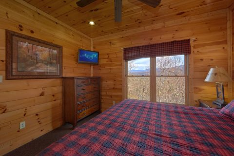 Mountain Views 1 Bedroom Cabin Sleeps 8 - Panorama