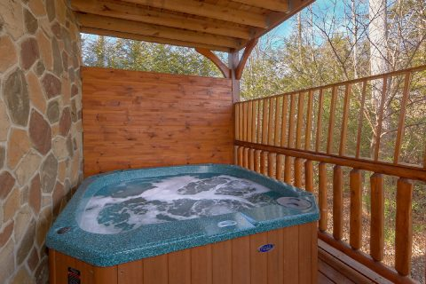Private Hot Tub 1 Bedroom Cabin in Gatlinburg - Panorama