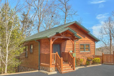 1 Bedroom 2 Story 2 Bath Cabin Sleeps 8 - Panorama