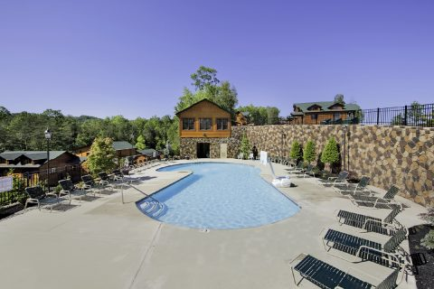Resort Pool - Panorama