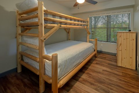 bunk Beds in Kids Room 6 Bedroom Pool Cabin - Patriots Point Retreat