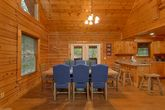 Cabin with Dining Table & Bar Stool Seating
