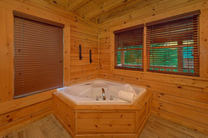 Jacuzzi Tub in King Suite - Paws A While