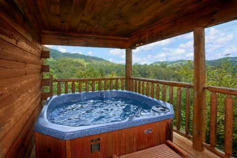 Secluded Cabin with Hot Tub & Mountain Views - Peek A View