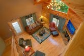 Pigeon Forge Cabin with Fireplace and TV
