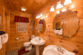 Cabin with master bedroom and private bath