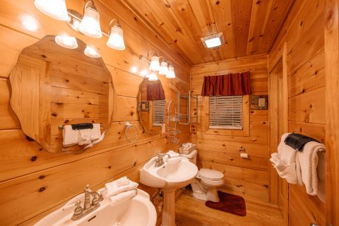 Master Suite Shower and Tub - Pleasant Hollow