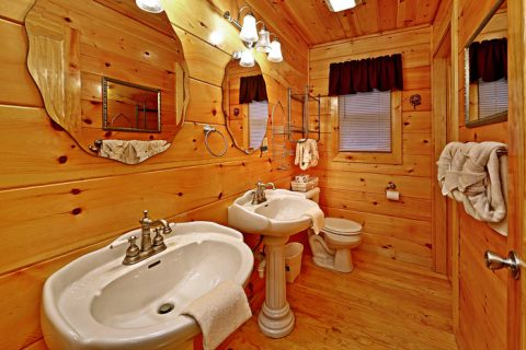 Cabin with His and Her Sinks - Pleasant Hollow