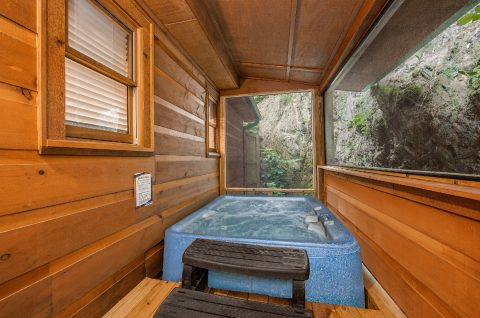 2 Bedroom cabin with Private Hot Tub - Pleasant Hollow