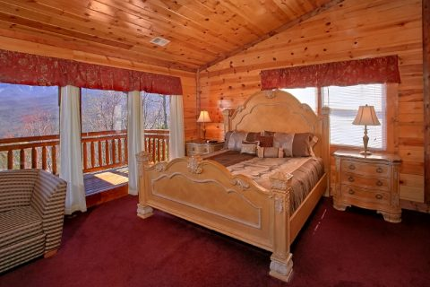 6 bedroom Cabin with 5 Master Suites - Pool and a View Lodge