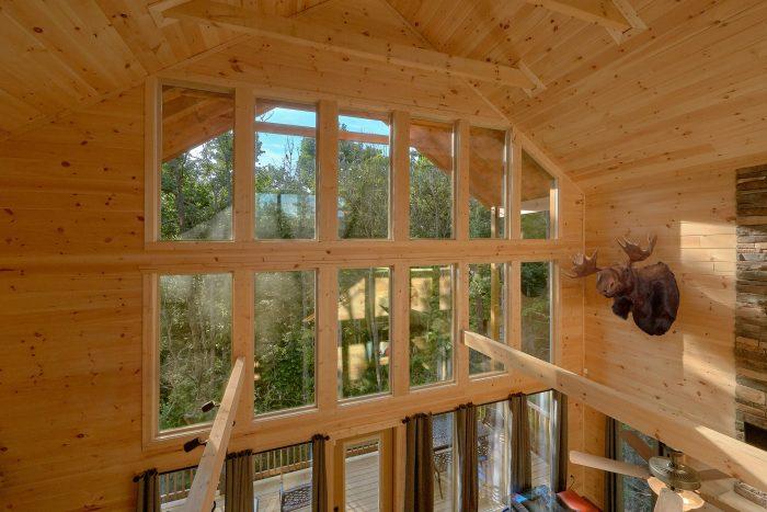 Floor To Ceiling Windows 2 Bedroom Cabin - Pool N Around