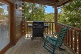 Rocking Chairs adn Gas Grill 6 Bedroom Cabin