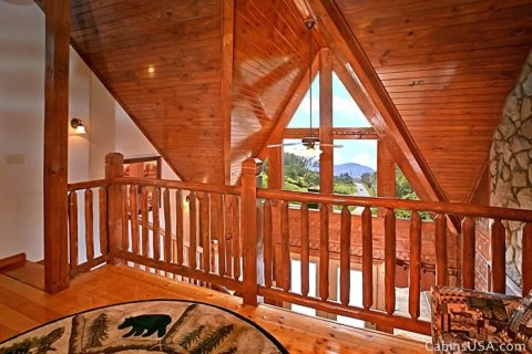 Great Views from Lofted Area - R & R