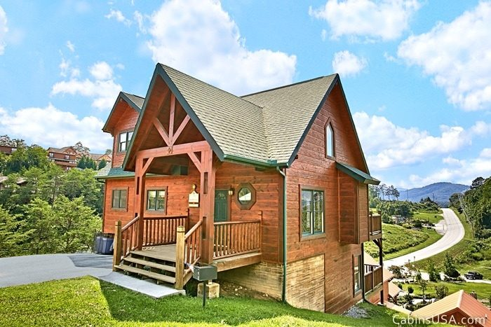 Great Pigeon Forge Cabin Rental - R & R