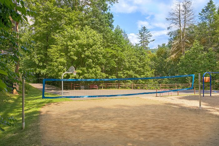 Cabin with Volleyball Court and Swimming Pool - Reclusive Moose