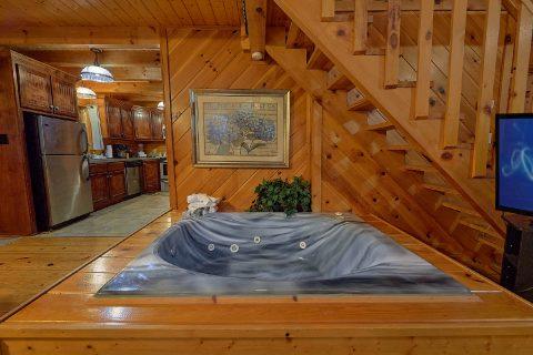 Honeymoon Cabin with Jacuzzi Tub - Restin Easy