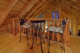 Open Loft with Pool Table 1 Bedroom Cabin