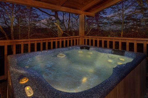 Private Hot Tub 1 Bedroom Honeymoon Cabin - Restin Easy