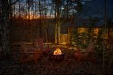 Honeymoon Cabin with Fire Pit and Yard