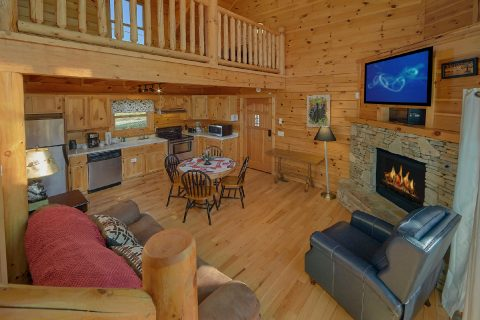 2 Bedroom Cabin with Gas Fireplace and WiFi - Rippling River