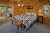 King Bedroom with Flatscreen TV Sleeps 5