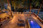 6 Bedroom Cabin with Swim Spa Sleeps 20