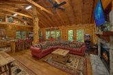 Luxury 2 bedroom cabin with fireplace and TV