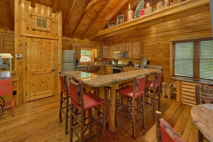2 Bedroom Cabins with 2 Master Suites - River Edge