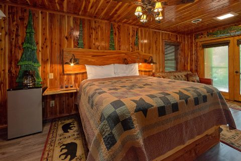 2 bedroom cabin on river with king bedroom - River Edge