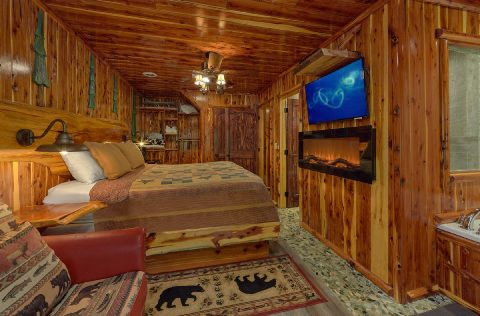 River Cabin with 2 Master Suites with fireplaces - River Edge