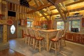Luxury Cabin with Bar Seating in kitchen