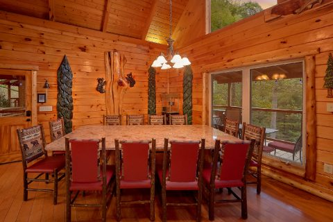 Cabin with Dining Room overlooking the river - River Paradise