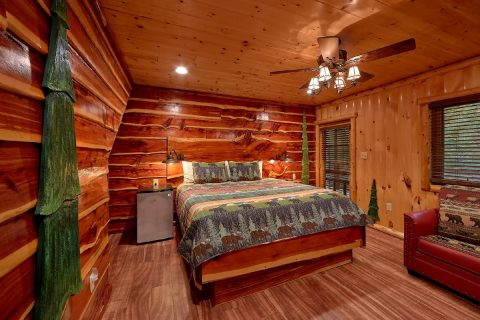 Premium Cabin on the river with a King Bedroom - River Paradise
