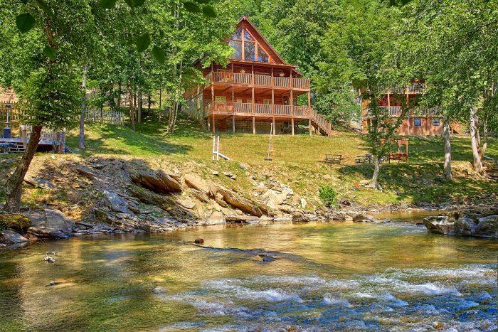 River Pleasures Cabin Rental Photo