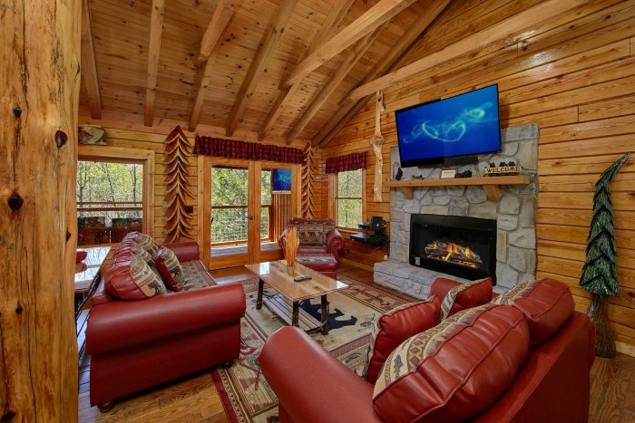2 Bedroom Cabin with Fireplace on the River - River Pleasures