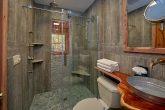 Beautiful Custom bathroom in 2 bedroom cabin