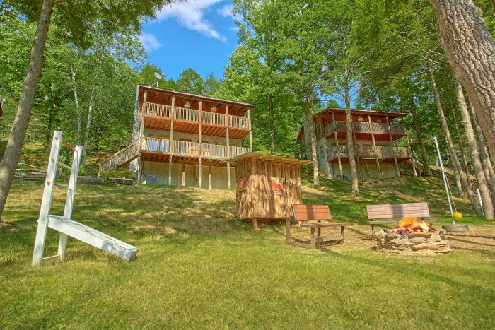 Riverside Cabin with Hot Tub, Fire Pit and Games - River Pleasures
