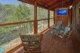 Deck Over Looking the River 2 Bedroom Cabin