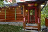 2 bedroom cabin that sits beside the River