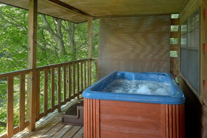 Rustic Cabin on the river with private hot tub - River Rush