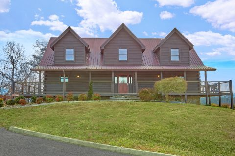7 Bedroom Luxury Cabin in Pigeon Forge - Rocky Top Lodge