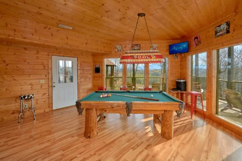 Luxury 7 bedroom Cabin with Theater Room - Rocky Top Lodge