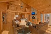 Premium 7 Bedroom Cabin with Fireplace