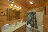 Private Master bathroom in 2 bedroom cabin