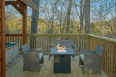 Secluded cabin with Fire pit and hot tub